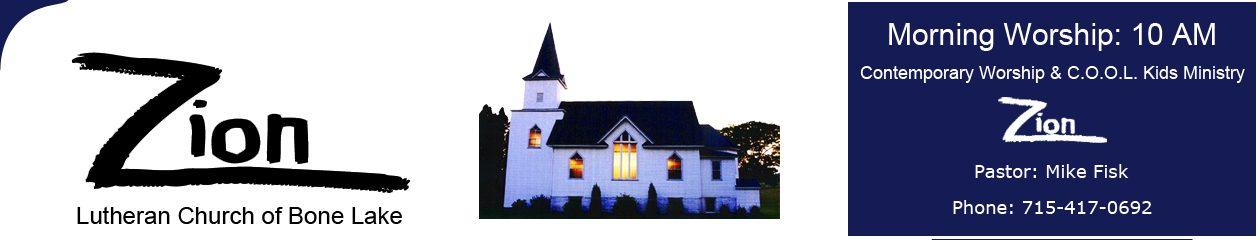 Zion Lutheran Church of Bone Lake